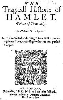 Elizabethan Revenge in Hamlet