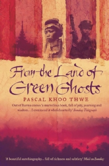 From the Land of Green Ghosts by Pascal Khoo Thwe book cover
