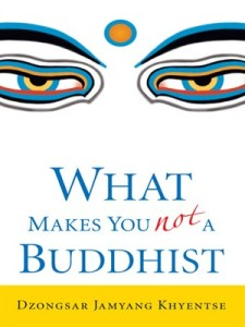 What Makes You No A Buddhist by Dzongsar Jamyang Khyentse
